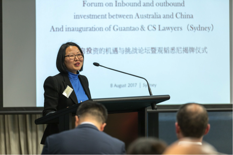 Ms Jingmin Qian, Director of National Australia China Business Council